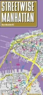 Streetwise Manhattan Map – A folding, pocket size street map of Manhattan, NYC