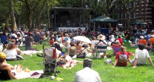 Governors Island, New York City - Concert