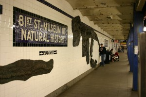 Subway Station For The Natural History Museum