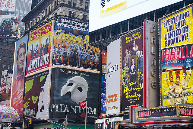 New York Broadway Shows 2012