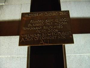 WTC - The Cross at Ground Zero