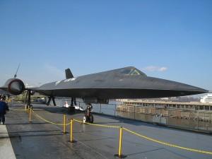 Intrepid Sea Air and Space Museum - Blackbird Spy Plane