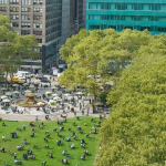 Bryant Park in Manhattan New York