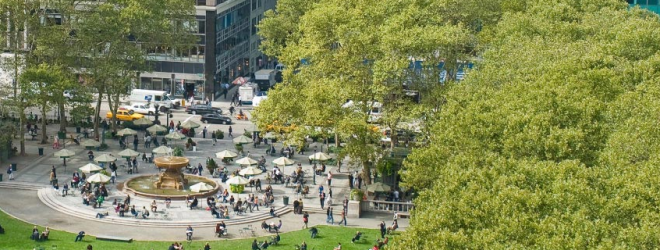 Bryant Park – Midtown Manhattan – New York City