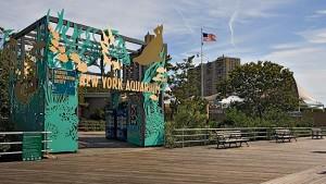 New York Aquarium on the Coney Island Boardwalk