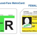 Senior Citizen Reduced Fare MetroCard