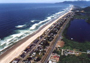 Aerial View of Far Rockaway Beach at Queens, New York City