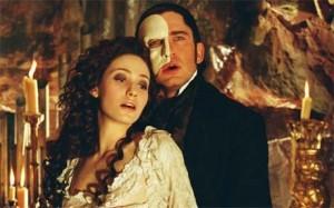 Christine Daae and The Phantom in a Sensual Scene