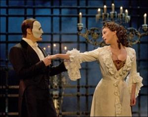 The Phantom and Christine Daae