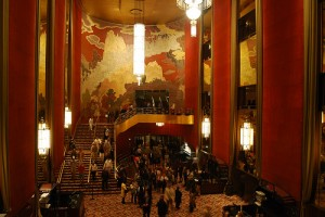 Art Deco at Radio City Music Hall