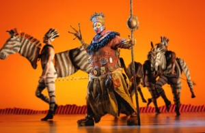 Elaborate Costumes Used in The Lion King