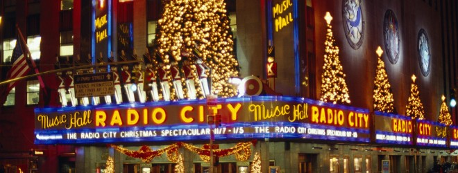 Radio City Music Hall in Midtown Manhattan