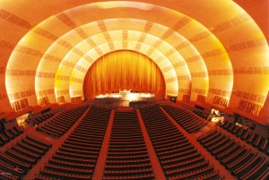 Radio City Music Hall Stage and Seat Lineup