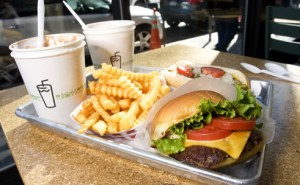 Delicious Offerings from the Shake Shack Menu - Burgers, Fries, Frozen Custard Shakes and more