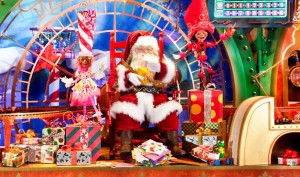 Elaborate Christmas Window Displays at Macy's in New York City