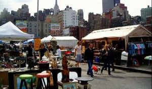 A Weekend Flea Market in NYC