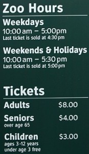 Central Park Zoo Hours - Central Park Zoo Tickets (Old Rates)